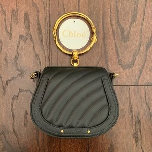 Chloe Nile Small Quilted Leather